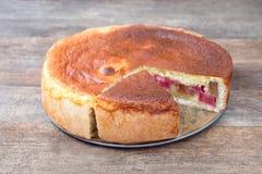大黄蛋糕 库存图片