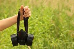 大黑色儿童现有量藏品人工呼吸机s 免版税库存照片