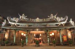 大龙峒宝安寺庙台北台湾 免版税图库摄影