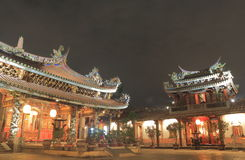 大龙峒宝安寺庙台北台湾 库存图片