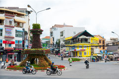 大叻-亚洲,越南的一点巴黎 免版税库存图片