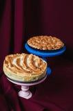 大黄和蛋白甜饼饼 库存照片