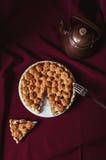 大黄和蛋白甜饼饼 库存图片