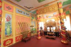 大叻市保大帝颐和园在越南 图库摄影