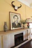 大叻市保大帝颐和园 免版税库存图片