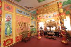 大叻市保大帝颐和园 库存图片