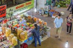 大叻市市场,越南 库存照片