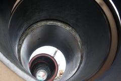 大直径的管道 免版税库存图片