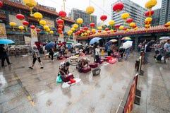 黄大仙神在香港 免版税库存图片