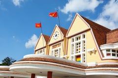大叻老火车站 库存照片