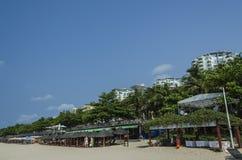 大洞hai海滩,三亚 免版税库存照片