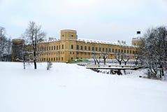 大Gatchina宫殿 免版税库存图片