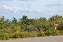 大Pocono国家公园在宾夕法尼亚 免版税库存图片