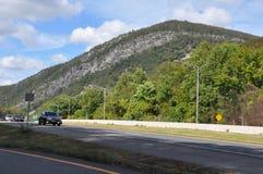 大Pocono国家公园在宾夕法尼亚 库存图片