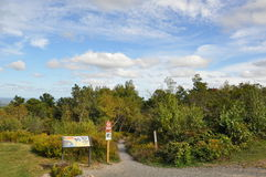 大Pocono国家公园在宾夕法尼亚 免版税库存照片