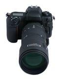 大SLR照相机 库存图片