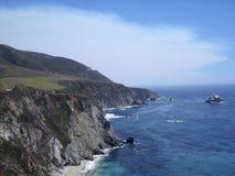大Sur在加利福尼亚 库存照片
