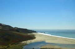 大Sur在北加利福尼亚美国 库存图片