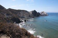 大Sur在北加利福尼亚美国 库存照片