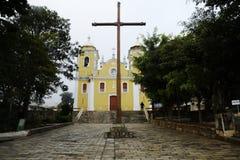 天主教会在巴西 免版税库存照片