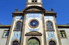 天主教会在波尔图, Capela de Fradelos,葡萄牙 免版税库存照片