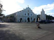 天主教会在vigan城市 免版税库存照片