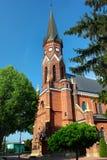 天主教堂在斯塔洛瓦沃拉,波兰 免版税图库摄影