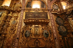 天主教教会墨西哥 免版税库存图片