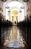天主教教会婚礼 免版税库存图片