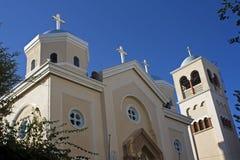 天主教教会希腊 免版税库存照片