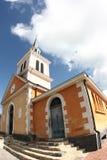 天主教教会老马提尼克岛 库存照片