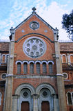 天主教教会著名saigon越南 免版税库存图片