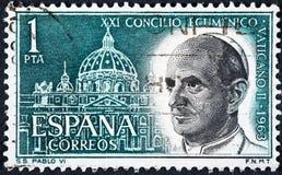 天主教的常任理事会由保禄六世召开了 免版税库存照片