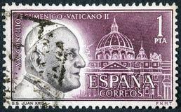 天主教的常任理事会由若望二十三世召开了 免版税库存图片