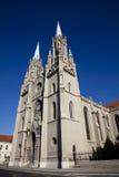 天主教的教会 免版税库存照片