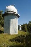 天体物理学的贝加尔湖listvyanka观测所 库存照片