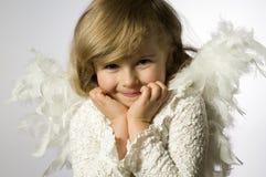 天使一点 图库摄影