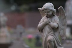 天使一点 免版税库存照片