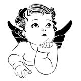 天使一点 向量例证
