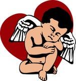 天使丘比特 免版税库存照片