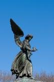 天使中央公园水 免版税库存照片