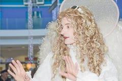 天使中心购物 免版税库存照片