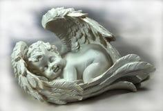 天使休眠 免版税图库摄影