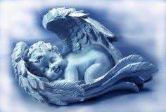 天使休眠 库存图片