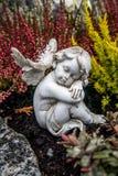 天使作梦 免版税库存图片