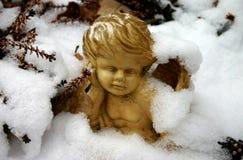 天使冬天 免版税库存图片
