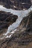 天使冰川登上伊迪丝卡夫尔 库存照片