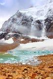 天使冰川贾斯珀国家公园 免版税库存图片