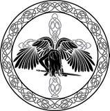 天使凯尔特语 库存图片