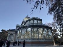 天使划分为的马德里公园retiro西班牙雕象 库存图片